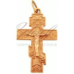 Православный Христианский золотой крест
