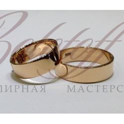 Широкие плоские кольца