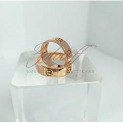 """Обручальные кольца """"Cartier LOVE"""""""